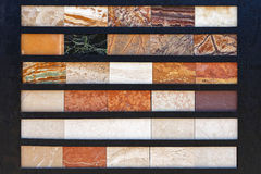 Marmur płytki Obraz Stock