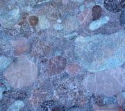 Marmur z impregnacjami różni cienie Obraz Stock
