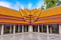 Marmurowa świątynia Bangkok, Tajlandia Sławny marmurowy świątynny Ben zdjęcia royalty free