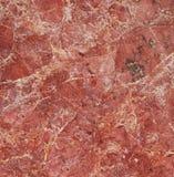 Marmurowa czerwieni powierzchnia Fotografia Royalty Free