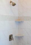 Marmurowa Dachówkowa prysznic obrazy royalty free