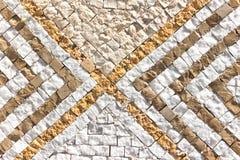Marmurowa kamienna mozaiki tekstura Zdjęcia Stock