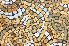 Marmurowa kamienna mozaiki tekstura Zdjęcia Royalty Free