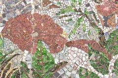 Marmurowa kamienna mozaiki tekstura Obraz Stock