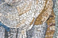 Marmurowa kamienna mozaiki tekstura Obrazy Royalty Free