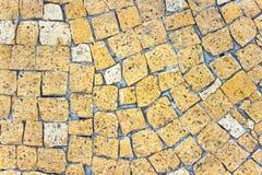 Marmurowa kamienna mozaiki tekstura Obrazy Stock