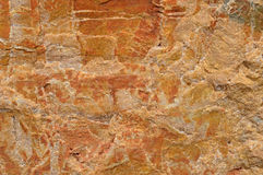 Marmurowa kwarc skała Dla tła Obrazy Royalty Free