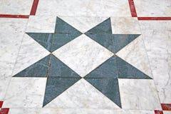 marmurowa mozaika w starym mieście i historia podróżujemy Obraz Royalty Free