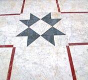 marmurowa mozaika w starym mieście Morocco Africa i historia podróżujemy Fotografia Stock