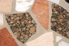 marmurowa mozaiki płytka Obrazy Royalty Free
