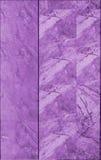 marmurowa płytki ściany tekstura w purpurach Zdjęcie Royalty Free