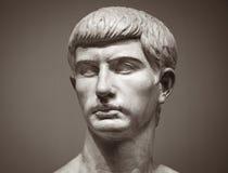 Marmurowa rzeźba Marcus Junius Brutus fotografia stock