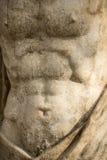 Marmurowa statua Męska półpostać Zdjęcia Royalty Free