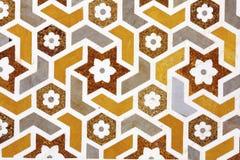 marmurowa szczegół mozaika kształtuje kamienie Obraz Royalty Free