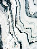Marmurowa tekstura czarny i biały Obrazy Royalty Free