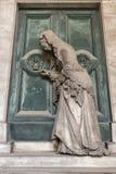 Marmurowe statuy w cmentarzu Obrazy Royalty Free