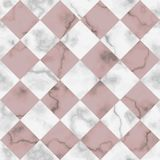 Marmurowego Luksusowego czeka Diagonalny Bezszwowy wzór Zdjęcie Royalty Free