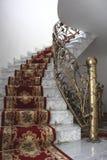 Marmurowi schodki zdjęcie royalty free