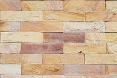 Marmurowy ściana z cegieł Obrazy Stock