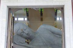 Marmurowy bhuddha Obraz Royalty Free