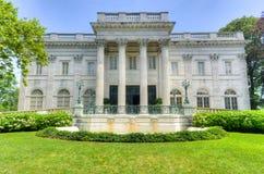 Marmurowy dom wyspa - Newport, Rhode - obraz royalty free