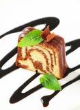 Marmurowy funta tort Zdjęcie Royalty Free