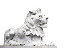 Marmurowy lew Obrazy Stock