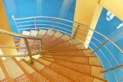 marmurowy ślimakowaty schody Zdjęcie Royalty Free