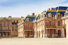 Marmurowy podwórze przy pałac Versailles, Francja zdjęcie stock