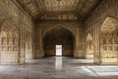 Marmurowy pokój w Agra forcie India Obrazy Royalty Free