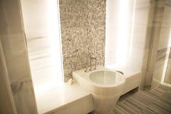 marmurowy sauna Zdjęcia Royalty Free