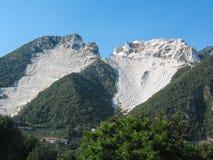 Marmurowy łup w Tuscany Zdjęcia Stock