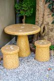 Marmurowy utrzymanie stół Obrazy Royalty Free