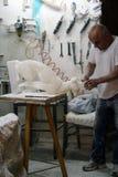 Marmurowy workhop obraz royalty free