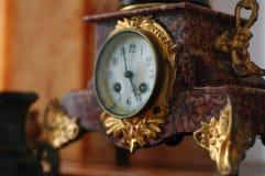 Marmurowy zegarek w rocznika stylu Zdjęcia Stock
