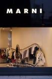 Marni mody sklep w Chiny Zdjęcie Stock