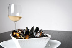 Marnieres de Moules Photographie stock