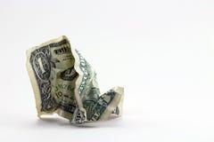 Marnowanie pieniądze Zdjęcie Royalty Free