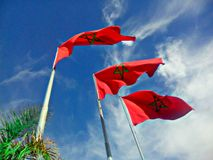 Maroc-coraM Marocain-Stadt Lizenzfreie Stockbilder