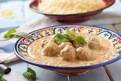 Maroc style Meatballs Royalty Free Stock Photography