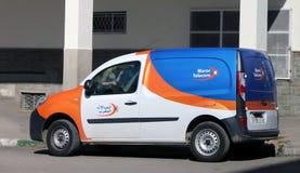 Maroc Telecom-Voertuig royalty-vrije stock afbeeldingen