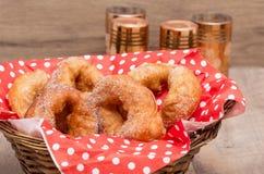 Marocain sfenj печенья Морокканские блинчики Sfinj Стоковая Фотография