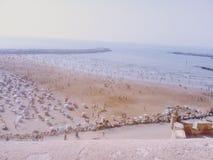 Maroccain strand Arkivbilder