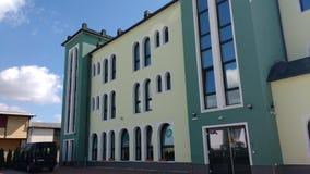 Maroccan伊斯兰教的Tahwid清真寺迪岑巴赫德国 免版税库存照片