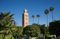 Maroccan尖塔 图库摄影