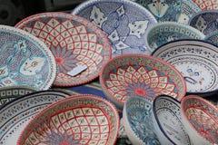 Maroccan garncarstwo Zdjęcie Stock