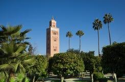 Maroccan minaret Fotografia Stock