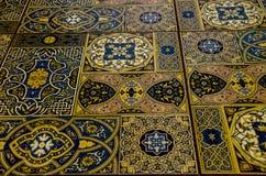 Maroccan płytka dla tła obraz stock