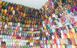 Moroccan shoes Royalty Free Stock Images