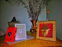 Marocchino domestico tradizionale Amazigh degli accessori Fotografia Stock